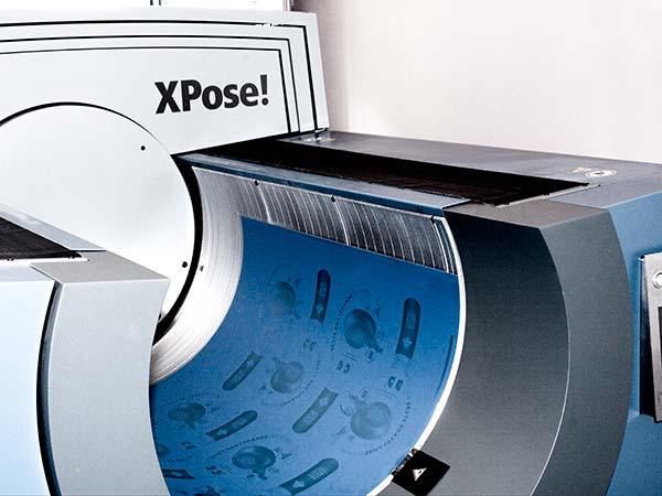 Laser-Druckplattenbelichter