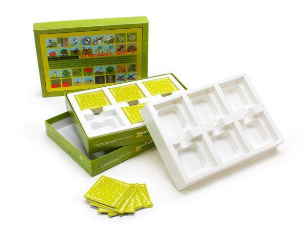 Tiefzieheinlagen-Trays für Spielkarten