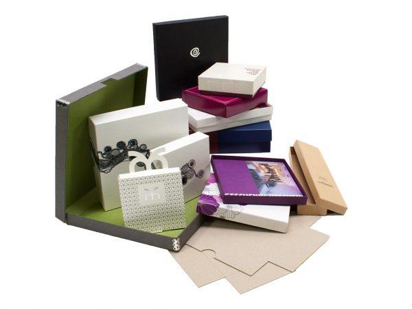 Überzogene Schachteln